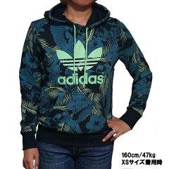 アディダス レディース トレフォイル ロゴ フーディー スウェット パーカー adidas Women Trefoil Logo Hoodie Multicolor あす楽対応 スーパーセール 02P05Sep15