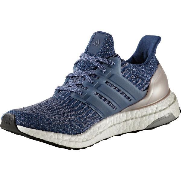 (取寄)アディダス レディース ウルトラブースト ランニングシューズ Adidas Women Ultraboost Running Shoe Mystery Blue/Mystery Blue/Vapour Grey Met:スウィートラグ