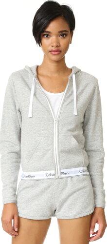 (取寄)Calvin Klein Underwear Women's Modern Cotton Full Zip Hoodie カルバンクライン アンダー...