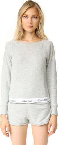 (取寄)Calvin Klein Underwear Women's Modern Cotton Long Sleeve Sweatshirt カルバンクライン ...