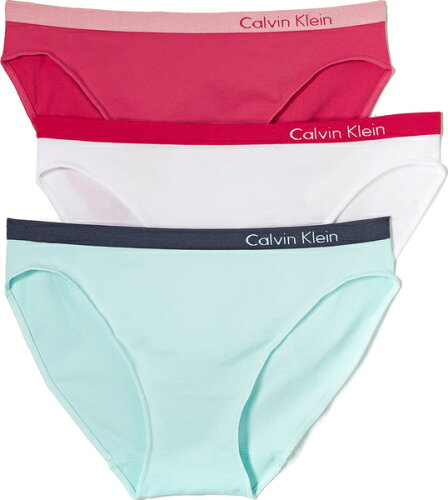 (取寄)Calvin Klein Underwear Women's Pure Seamless Bikini 3 Pack カルバンクライン アンダーウ...