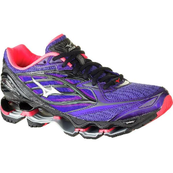 (取寄)ミズノ レディース ウェーブ プロフェシー 6ノヴァ ランニングシューズ Mizuno Women Wave Prophecy 6 Nova Running Shoe Liberty/Diva Pink/Black Nova:スウィートラグ