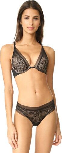 (取寄)Calvin Klein Underwear Women's CK Black Plunge Push Up Racer Back Bra カルバンクライン...