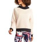 (取寄)ルーシー レディース フル ポテンシャル キルテッド トレーナー プルオーバー Lucy Women Full Potential Quilted Sweatshirt Pullover Moonlight/Lucy Black