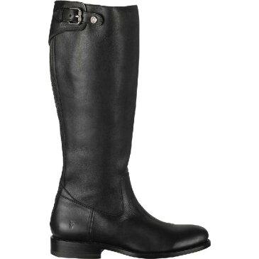 (取寄)フライ レディース ジェイデン バックル バック ジップ ブーツ Frye Women Jayden Buckle Back Zip Boot Black/Tumbled Soft Full Grain