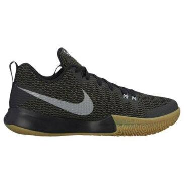 (取寄)ナイキ メンズ スニーカー ズーム ライブ 2 Nike Men's Zoom Live II Black Reflective Silver Anthracite Gum