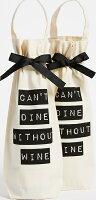 (取寄)Bag-allCan'tDineWithoutWine2Packバッグオールキャントダインウィズアウトワイン2パックNatural/Black