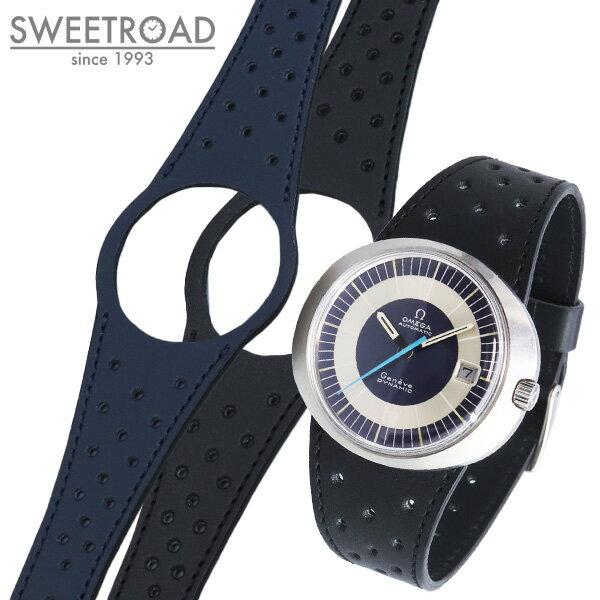 腕時計用アクセサリー, 腕時計用ベルト・バンド SWEETROADOMEGAGENEVE DYNAMIComgd-2