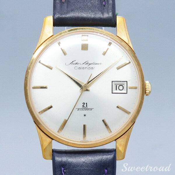 腕時計, メンズ腕時計 SEIKOSKYLINER CALENDARDIA SHOCKRef.J1501921 JEWELS1960w-20657