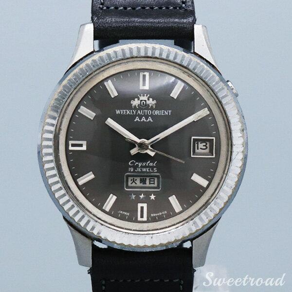腕時計, メンズ腕時計 ORIENTWEEKLY AUTO ORIENTAAACrystalRef.F104948K 196019w-20993
