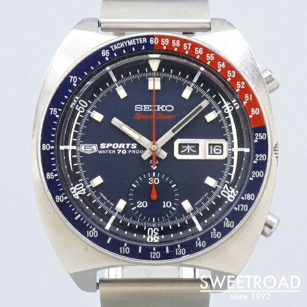 腕時計, メンズ腕時計 SEIKO5SPORTS SPEEDTIMER5Ref.6139-6000SS19 69w-24881
