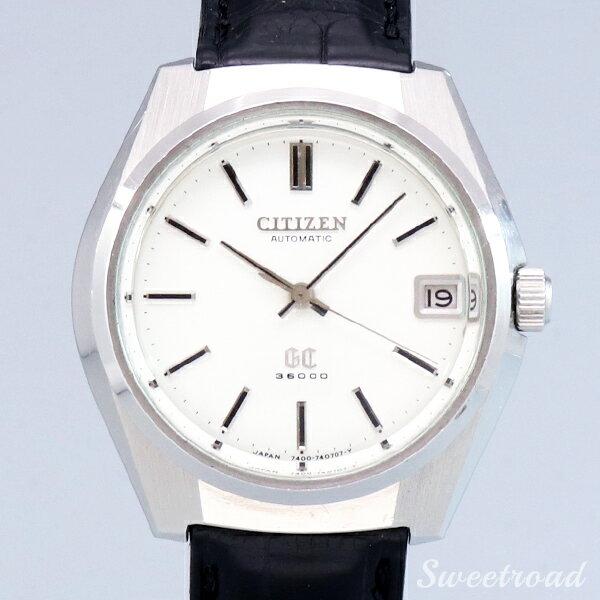 腕時計, メンズ腕時計 CITIZENGCGLORIOUS CITIZENRef.4-740220YCal.7400 1971w-21687