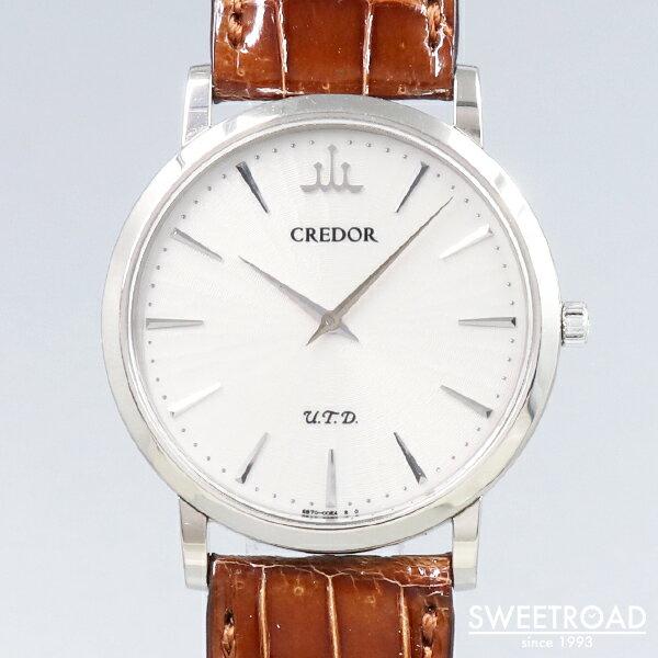 腕時計, メンズ腕時計 SEIKO18KWG18CREDOR UTD6870-00B018KWGw-24313gnz