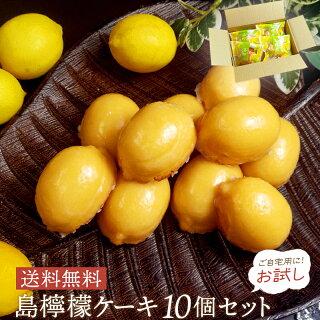 瀬戸内レモンを使った 島檸檬ケーキ