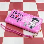ベティブープ(BettyBoop)ロングウォレットBBMSP5948