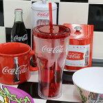 Coke(コカ・コーラ)プラスチックタンブラーw/ストロー20oz.Coca-ColaCC-GS-PT-127087