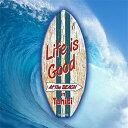ミニ サーフ ボード Life is Good MSB016