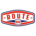 RT 66 (ルート 66) ステッカー ラージ Route 66 Hex 66-SP-...