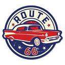 RT 66 (ルート 66) ステッカー ラージ Route 66 Classic 66...