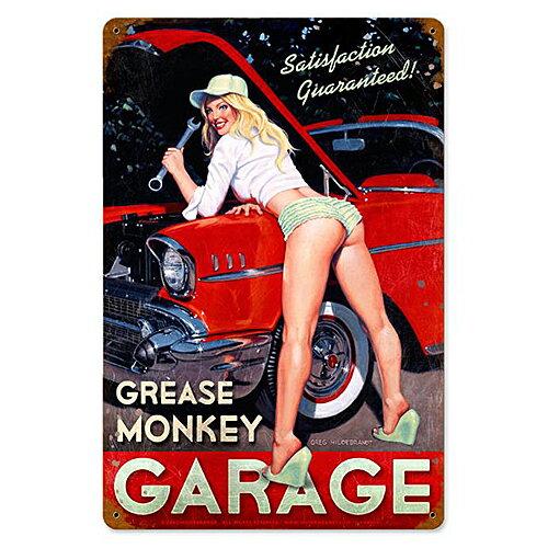 インテリア小物・置物, その他  Greg Hildebrandt Grease Monkey Garage HB-004