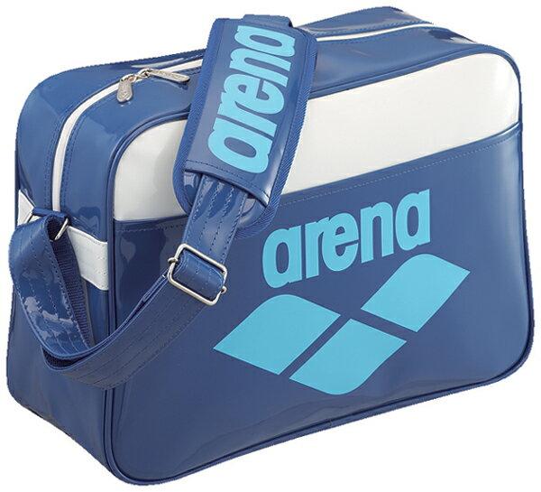 FAR-3925 arena arena enamel bag L size shoulder bag bag swimming swim bag swimming BLU