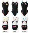 【あす楽対応】DIS-6353W arena アリーナ disney ディズニー ミッキー・ドナルド ToughSuit タフスーツ レディース 女性用 スーパーフライバック タフスキン 練習用水着 練習水着 競泳水着 競泳用水着