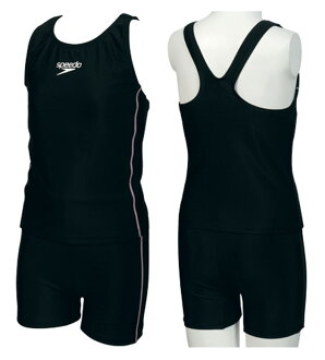 Only as for 150 size! SD33S27 SPEEDO speed youth girl swimsuit school swimsuit midriff separate child service kids KP