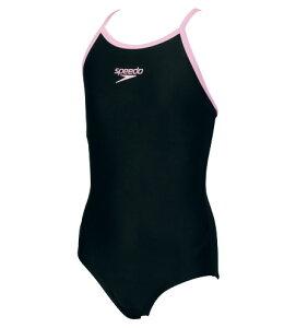 【あす楽対応】ジュニア130〜170サイズ!SD35Y23speedoスピードスクール水着ジュニア女子子供用ワンピースキッズプール水泳KP