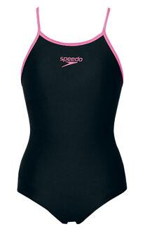Junior 120-150 size! SD33Y23 speedo speed junior women's swimsuit school swimsuit one piece children's KP
