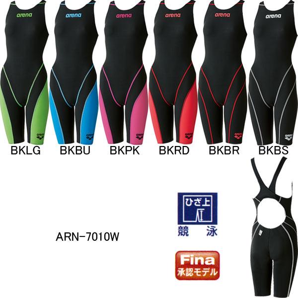 アリーナ(ARENA)女性用競泳水着アクアフォースフュージョン2ウイメンズハーフスパッツARN-7010W