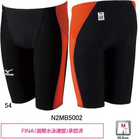 ミズノ(MIZUNO)男性用競泳水着GX-SONICIIMRメンズハーフスパッツN2MB5002