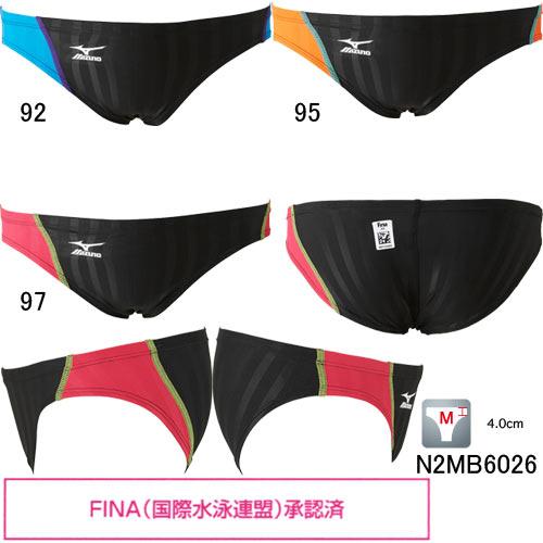 ミズノ(MIZUNO)男性用競泳水着ストリームアクセラメンズVパンツN2MB6026