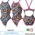 ミズノ(MIZUNO)女性用トレーニング水着 トイストーリー(Toy Story)エクサスーツウイメンズミディアムカット N2MA7281