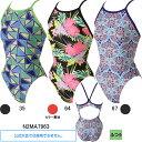 ミズノ(MIZUNO)女児用トレーニング水着 寺川綾コレクションエクサスーツジュニアミディアムカット N2MA7963