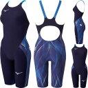 【10%OFF】ミズノ(MIZUNO)女性用 競泳水着 GX-SONIC V MR ウイメンズハーフスーツ N2MG0202