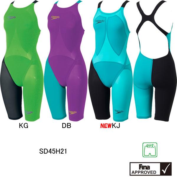 スピード(SPEEDO)女性用競泳水着LZRRACERELITE2ウイメンズオープンバックニースキンSD45H21【smtb-k】【kb】