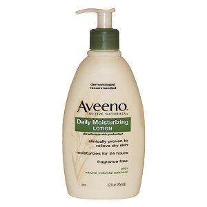 【正規品】【送料無料】【Aveeno】Daily Moisturizing Lotion12ozデイリーモイスチャライジングローション【海外直送】