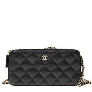 CHANEL Handbag A84276 Lambskin Black GP Backorder/Used/Unused