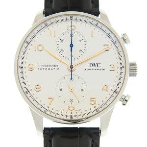 [取り寄せ/新品] IWC ポルトギーゼ・クロノグラフ IW371604 ステンレス シルバーメッキ 自動巻き 41mm 腕時計