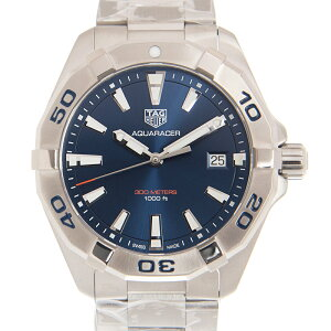 タグ・ホイヤー TAG HEUER アクアレーサー WBD1112.BA0928 300m ブルー 41mm クォーツ メンズ腕時計