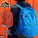 【あす楽】マックパック macpac バッグ MM61606 26L ウェカデイパック アウトドア カジュアル リュック デ...