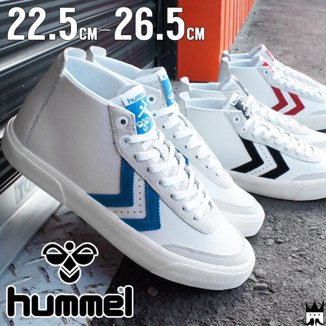 レディース靴, スニーカー  hummel 64-432 Stockholm Mid 2001 7393 3425 evid o-sg 5