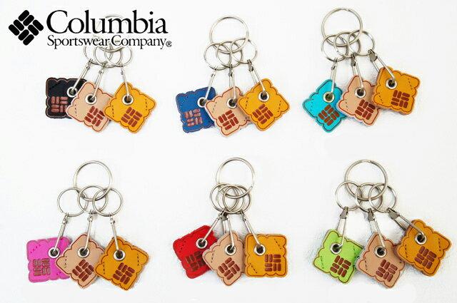 【あす楽】コロンビア PU7115 ボッチキーリング Columbia BOCCI KEY RING 010(Black)・437(Azul)・463(Riptide) ・602(Bubblegum)・691(Bright Red)・998(Wham) キーホルダー