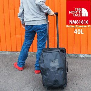 【あす楽】ザ・ノースフェイス THE NORTH FACE バッグ メンズ レディース NM81810 40L ローリングサンダー22インチ キャリーバッグ キャリーバック ウィーラーバッグ 小型 旅行 出張 遠征 アウトド