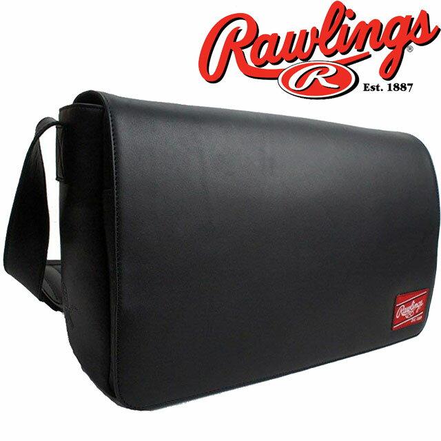 【あす楽】(一部地域除く)ローリングス Rawlings メンズ バッグ HOHMESB LEATHER GOODS メッセンジャー カジュアル ビジネスマン ベースボール evid ab-c