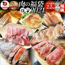 肉の福袋 2021年 シルバー メガ盛り 総重量2.25kg( 7種 食べ比べ )国産牛ステーキ&牛 ...