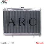 ARC Brazing/エーアールシーブレージング ラジエーター アルミ RX-7 FD3S SMC36 36mm 冷却 1Z014-AA089