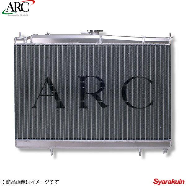 ARC Brazing/エーアールシーブレージング ラジエーター アルミ ランサーエボリューション8 CT9A SMC36 36mm 冷却 1M234-AA023