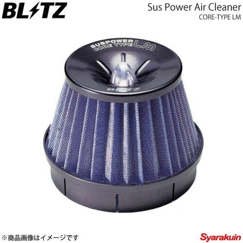 BLITZ エアクリーナー SUS POWER LM ミラ L502S,L512S ブリッツ エアクリーナー