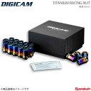 DIGICAM デジキャン チタンレーシングナット 貫通タイプ M12 ...